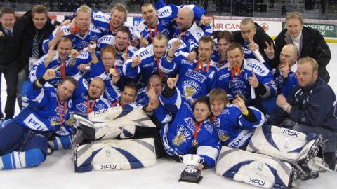 Deaf Lionsille jääkiekon MM-kultaa