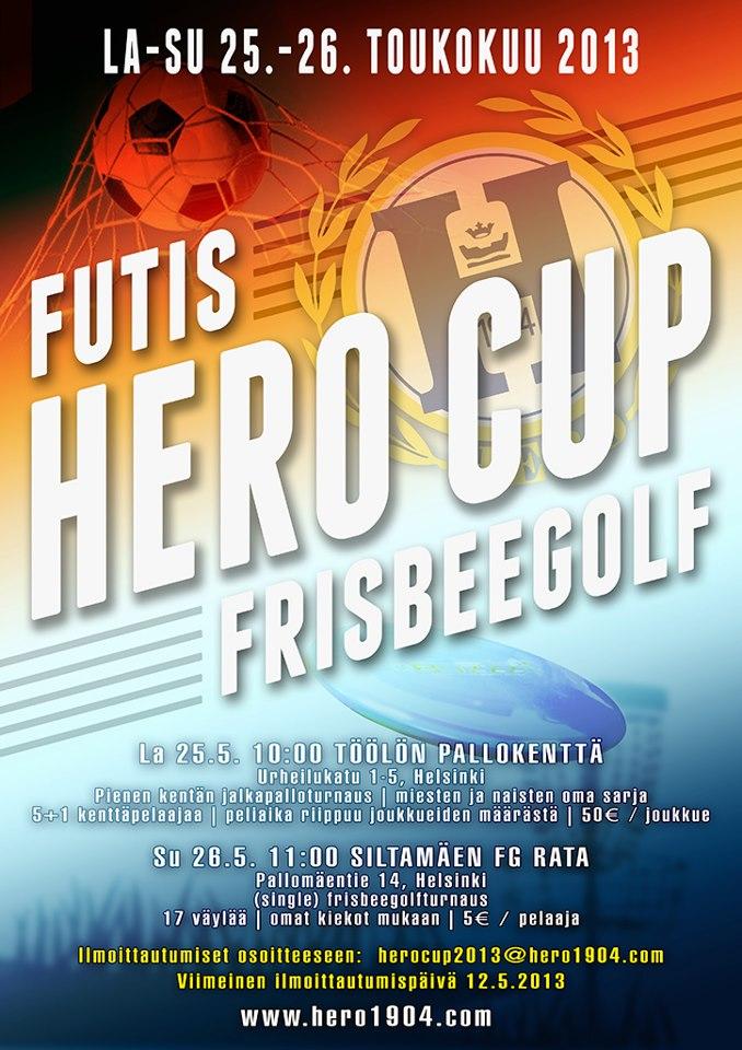 Hero Cup 2013 25.-26.5.!