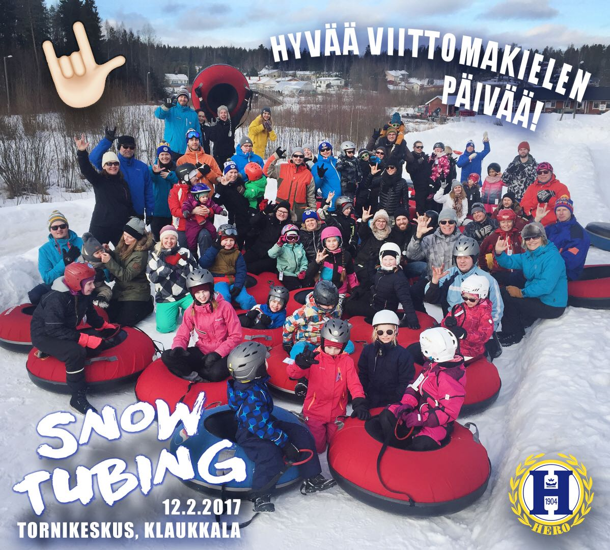 SNOWTUBING 12.2.2017